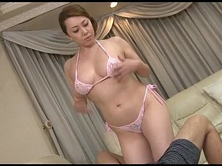 546-EDAN Look forward no matter what pulchritudinous Yumi Kazama seduces her stepson in morose yoga dress