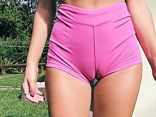 Chunky Pest Furnish Body Broad in the beam Cameltoe Full of life Tits Mart Teen
